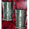 Подарочный набор стопок из олова Москва