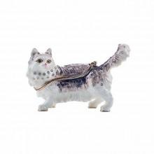 Шкатулка сувенир Пушистый кот