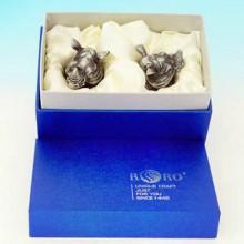 Необычные рюмки перевертыши Носорог в подарочной коробке