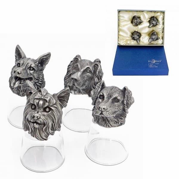 Подарочный набор стопок перевертышей Домашние любимцы с коробкой