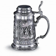 Оловянная кружка для пива Бавария