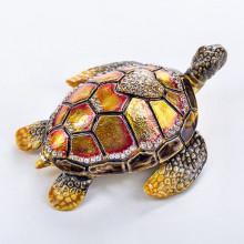 Шкатулка из страз Черепаха