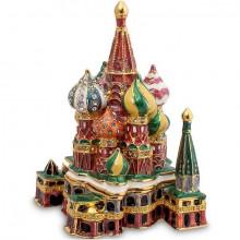 Шкатулка со стразами Собор Василия Блаженного
