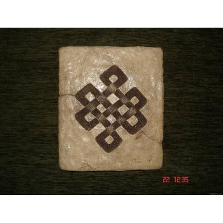 Панно из керамики «Мистический узел»